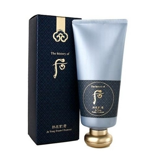 The History Of Whoo Gongjinhyang Gun Ja Yang Foam Cleanser korean cosmetic cleanser product online shop malaysia italy finland