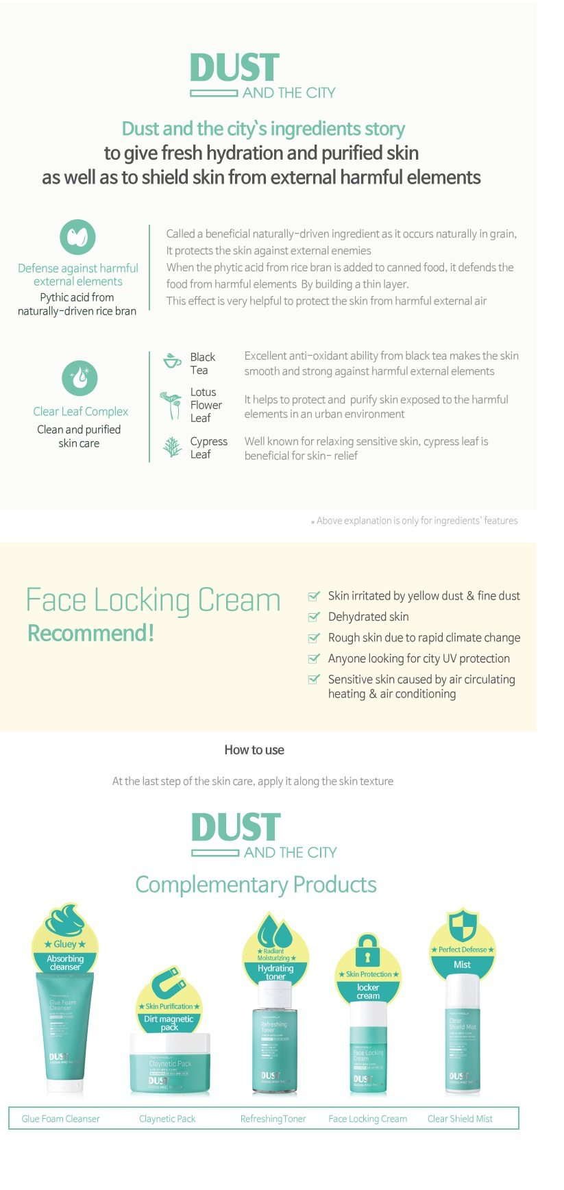 Tony Moly Dust and City Face Locking Cream korean cosmetic skincare product online shop malaysia italy germany2
