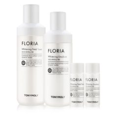 Tony Moly Floria Whitening 2 Set korean cosmetic skincare product online shop malaysia italy germany