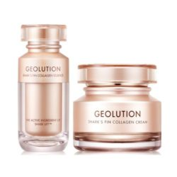 Tony Moly Geolution Shark's Fin Collagen Essence and Cream korean cosmetic skincare product online shop malaysia italy germany