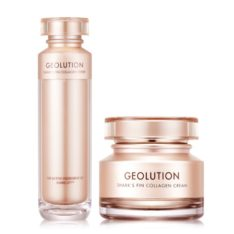 Tony Moly Geolution Shark's Fin Collagen Toner and Cream korean cosmetic skincare product online shop malaysia italy germany