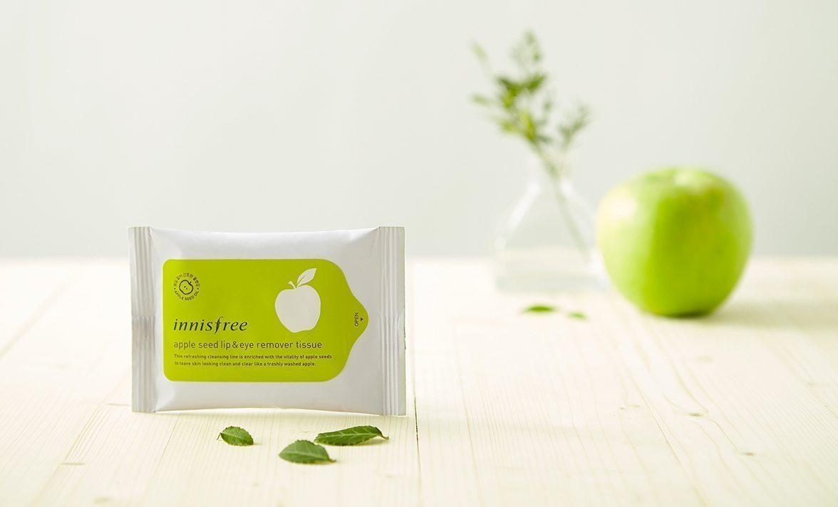 Innisfree Apple Seed Lip and Eye Remover Tissue Price Malaysia Turkey Monocco Myanmar1