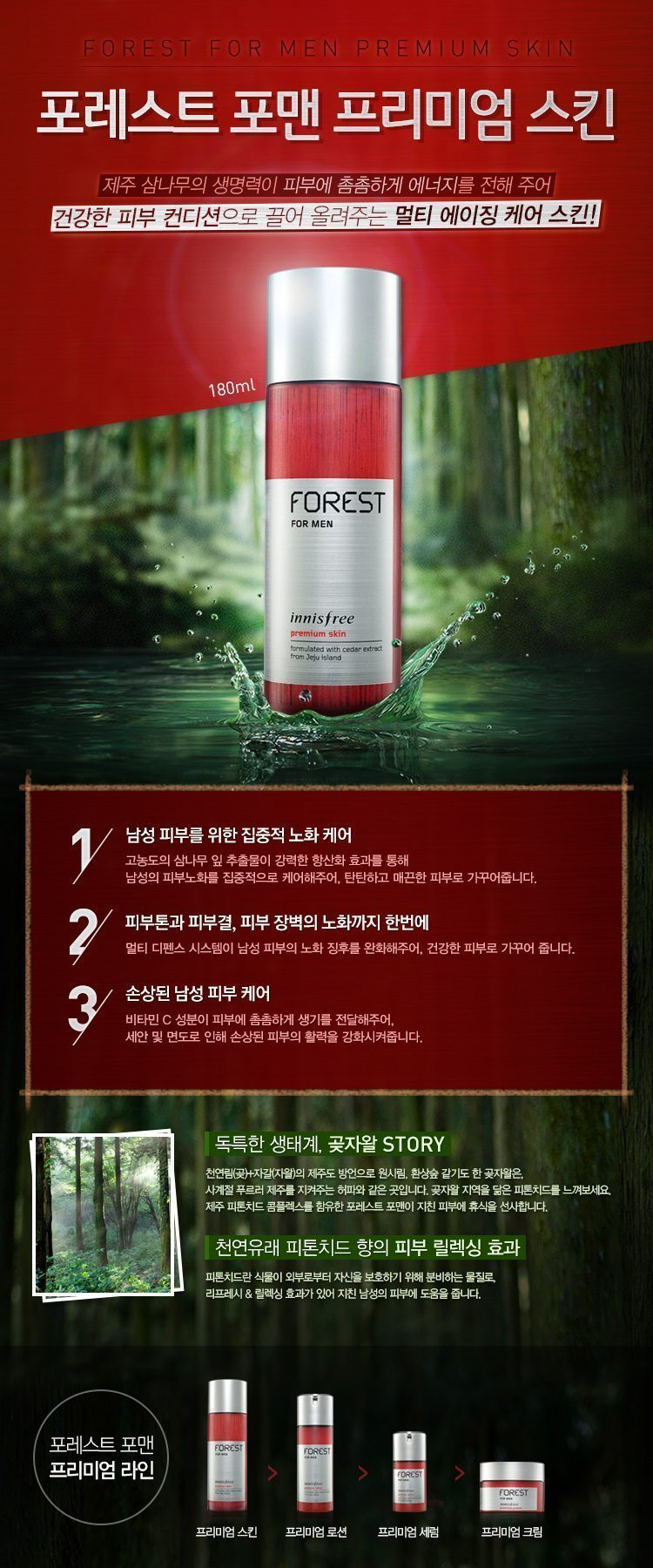 Innisfree Forest For Men Premium Skin Price Malaysia Greece Italy Denmark Belgium1