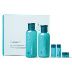 Innisfree Jeju Sparkling Mineral Skin Care Set Price Malaysia Thailand Brunei Japan