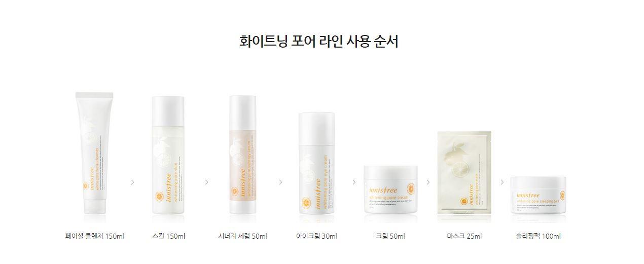 Innisfree White Pore Facial Cleanser Price Malaysia Netherlands Brunei Singapore6