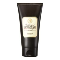 SkinFood Black Sugar Perfect Cleansing Foam For Men 150ml korean cosmetic skincare shop malaysia singapore indonesia
