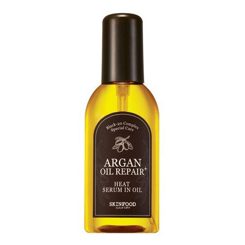 Skinfood Argan Oil Repair Plus Heat Serum in Oil 100ml korean cosmetic skincare shop malaysia singapore indonesia