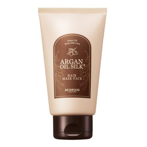 Skinfood Argan Oil Silk Plus Hair Maskpack 200g korean cosmetic skincare shop malaysia singapore indonesia