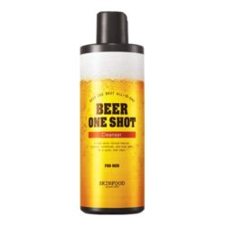 Skinfood Beer One Shot Cleanser for Men 400ml korean cosmetic skincare shop malaysia singapore indonesia