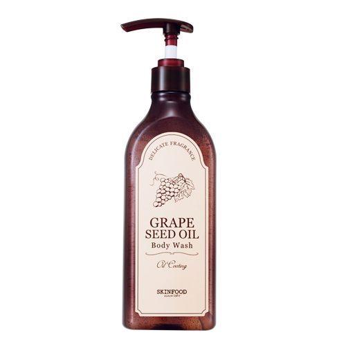Skinfood Grape Seed Oil Body Wash 335ml korean cosmetic skincare shop malaysia singapore indonesia
