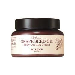 Skinfood Grape Seed Oil Coating Body Cream 225ml korean cosmetic skincare shop malaysia singapore indonesia