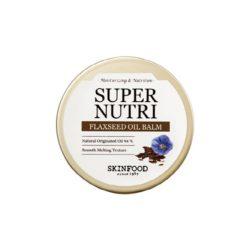 Skinfood Super Nutri Flaxseed Oil Balm 20g korean cosmetic skincare shop malaysia singapore indonesia