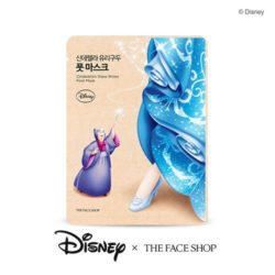 The Face Shop Cinderella's Glass Shoes Foot Mask 18ml korean cosmetic skincare shop malaysia singapore indonesia