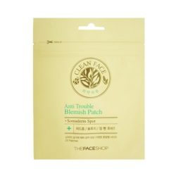 The Face Shop Clean Face Anti Trouble Blemish Patch price malaysia japan mexico