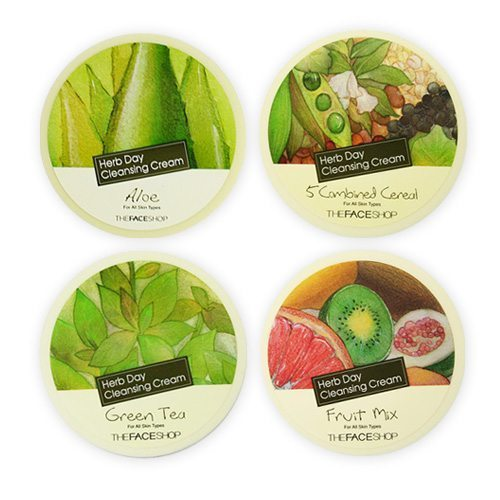 The Face Shop Herb Day Cleansing Cream price malaysia Australia Japan Mexico