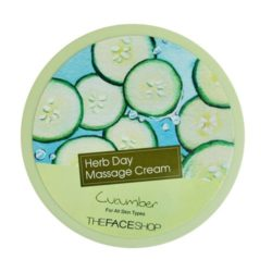 The Face Shop Herb Day Massage Cream Cucumber price malaysia indonesia thailand