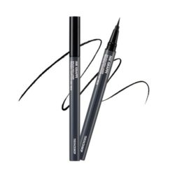 The Face Shop Ink Graffi Brush Pen Liner 03 Super Black 0.5g korean cosmetic skincare shop malaysia singapore indonesia