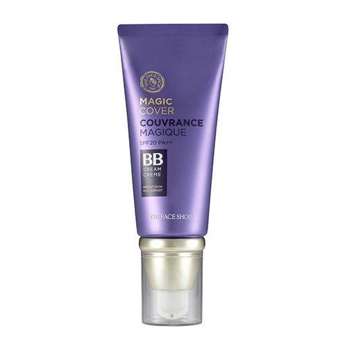 The Face Shop Magic Cover BB Cream SPF20 PA++ 45ml korean cosmetic skincare shop malaysia singapore indonesia