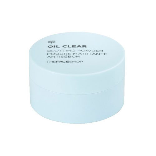 The Face Shop Oil Clear Blotting Powder 6g korean cosmetic skincare shop malaysia singapore indonesia