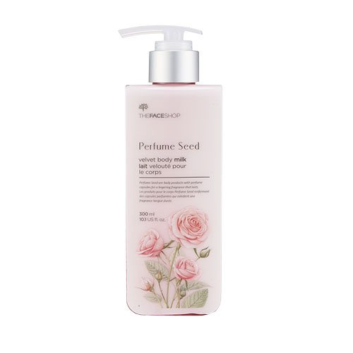 The Face Shop Perfume Seed Velvet Body Milk price malaysia chile paraguay