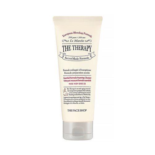The Face Shop The Therapy Essential Formula Foaming Cleanser price malaysia britain california london
