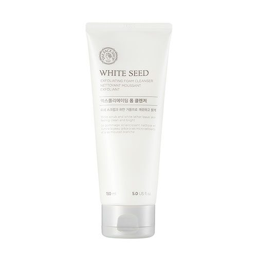 The Face Shop White Seed Exfoliating Foam Cleanser price malaysia holand germany italy