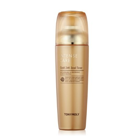 Tony Moly Intense Care Gold 24K Snail Toner korean cosmetic skincare product online shop malaysia italy germany