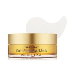 Tony Moly Intense Care Gold Snail Eye Mask korean cosmetic skincare product online shop malaysia italy germany