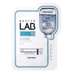 Tony Moly Master Lab Caviar Mask Sheet 5 korean cosmetic skincare product online shop malaysia italy germany
