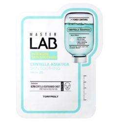 Tony Moly Master Lab Centella Asiatica Mask Sheet 20 korean cosmetic skincare product online shop malaysia italy germany