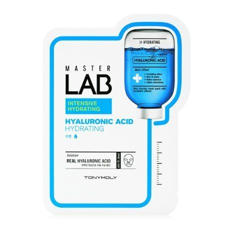 Tony Moly Master Lab Hyaluronic Acid Mask Sheet 20 korean cosmetic skincare product online shop malaysia italy germany