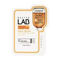 Tony Moly Master Lab Snail Mucin Mask sheet 5 korean cosmetic skincare product online shop malaysia italy germany