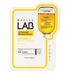 Tony Moly Master Lab Vitamin C Mask Sheet 5 korean cosmetic skincare product online shop malaysia italy germany