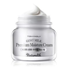 Tony Moly Naturalth Goat Milk Premium Moisture Cream korean cosmetic skincare product online shop malaysia italy germany