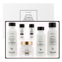 Tony Moly Naturalth Goat Milk Premium Skincare Set korean cosmetic skincare product online shop malaysia italy germany