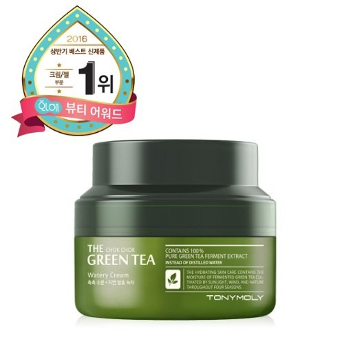 Tony Moly The Chok Chok Green Tea Watery Cream korean cosmetic skincare product online shop malaysia italy germany
