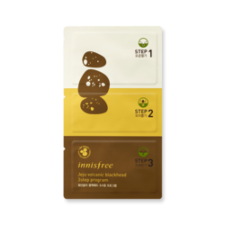 Innisfree Jeju Volcanic Blackhead 3 Step Program 7g korean cosmetic skincare shop malaysia singapore indonesia