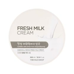The Face Shop Fresh Milk Cream 300ml korean cosmetic skincare shop malaysia singapore indonesia