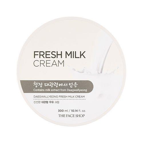 The Face Shop Fresh Milk Cream 300ml korean cosmetic skincare shop malaysia singapore indonesia