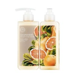 The Face Shop Grapefruit Body Lotion 300ml korean cosmetic skincare shop malaysia singapore indonesia