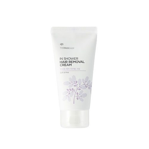 The Face Shop In Shower Hair Removal Cream [Soft and Mild] 100ml korean cosmetic skincare shop malaysia singapore indonesia