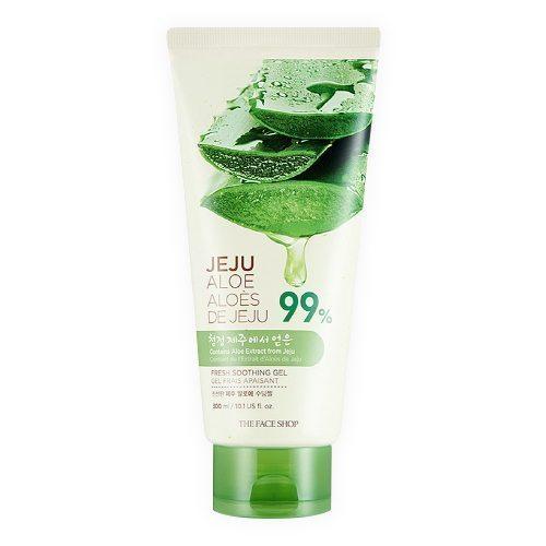 The Face Shop Jeju Aloe Fresh Soothing Gel 300ml korean cosmetic skincare shop malaysia singapore indonesia