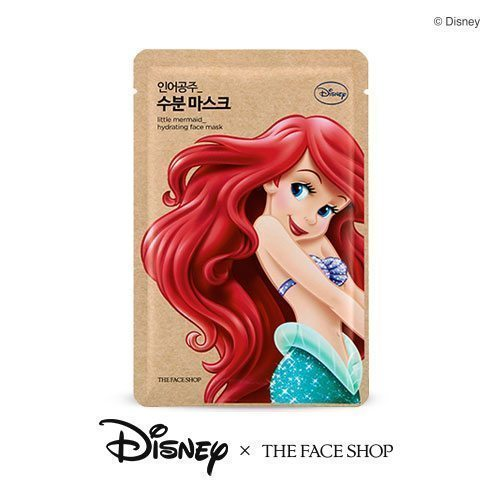 The Face Shop Little Mermaid Hydrating Face Mask 25g korean cosmetic skincare shop malaysia singapore indonesia