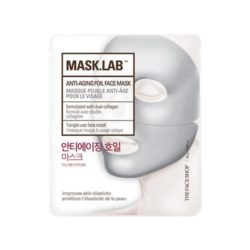 The Face Shop Mask Lab Anti Aging Foil Face Mask 25g korean cosmetic skincare shop malaysia singapore indonesia