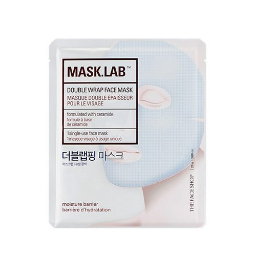 The Face Shop Mask Lab Double Wrap Face Mask 25g korean cosmetic skincare shop malaysia singapore indonesia
