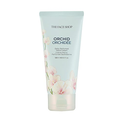 The Face Shop Orchid Daily Perfumed Hand Cream 120ml korean cosmetic skincare shop malaysia singapore indonesia
