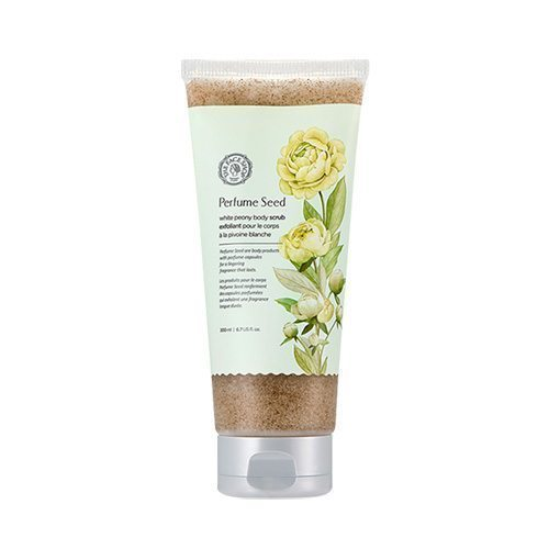 The Face Shop Perfume Seed White Peony Body Scrub 200ml korean cosmetic skincare shop malaysia singapore indonesia