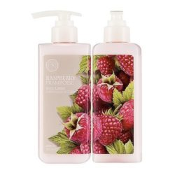 The Face Shop Raspberry Body Lotion 300ml korean cosmetic skincare shop malaysia singapore indonesia