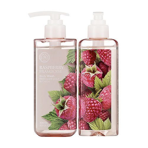 The Face Shop Raspberry Body Wash 300ml korean cosmetic skincare shop malaysia singapore indonesia