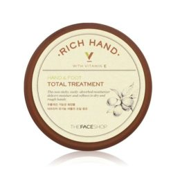 The Face Shop Rich Hand V Hand and Foot Total Treatment 110ml korean cosmetic skincare shop malaysia singapore indonesia